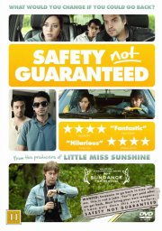 safety not guarenteed - DVD