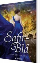 safirblå - bog