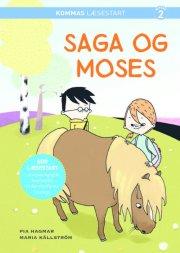 kommas læsestart: saga og moses - niv. 2 - bog