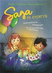 saga på eventyr: søskendesavn, kampgejst og en genstridig rokketand - bog