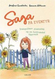 saga på eventyr: trampoliner, svømning og en forsvundet tigermis - bog
