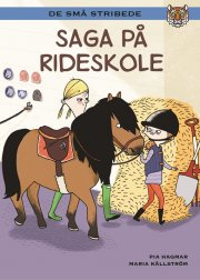 kommas læsestart: saga på rideskole - niv. 2 - bog
