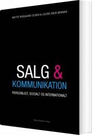salg og kommunikation - bog