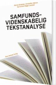 samfundsvidenskabelig tekstanalyse - bog