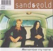 sand & gold - remember my name - cd