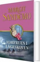 sandemoserien 18 - jomfruen i tågeskoven - bog