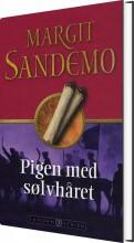 sandemoserien 7 - pigen med sølvhåret - bog