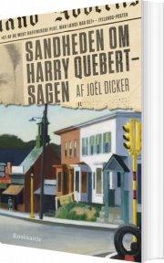 sandheden om harry quebert-sagen - bog