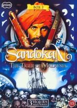 sandokan - tigeren fra malaysia - boks 2 - DVD