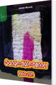 sange-digte-bønner - bog