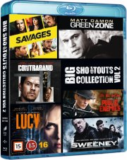 savages // lucy // public enemies // contraband // green zone // the sweeney - Blu-Ray