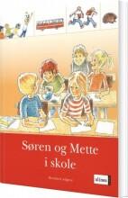 s og m-bøgerne, 1. trin, søren og mette i skole, ny udg - bog
