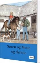 s og m-bøgerne, 2. trin 1, søren og mette og dyrene - bog