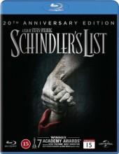 schindlers liste - 20 års jubilæumsudgave - Blu-Ray