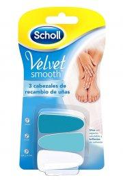 scholl velvet smooth refills - 3 stk - Hudpleje