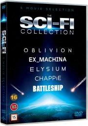 elysium // oblivion // ex machina // chappie // battleship - DVD