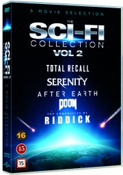 doom // serenity // total recall // after earth // the chronicles of riddick - DVD