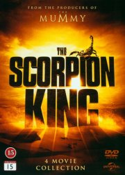 scorpion king 1-4 - DVD