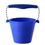 scrunch bucket / strand spand - blå - Udendørs Leg
