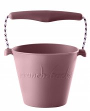 scrunch bucket / strand spand - dusty rose - Udendørs Leg