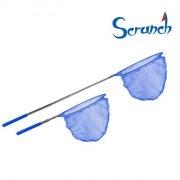 scrunch fiskenet - blå - Bade Og Strandlegetøj