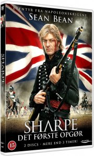 sharpe 1 - det første opgør - DVD