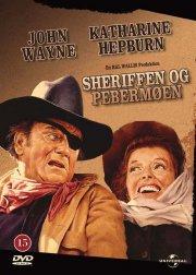 sheriffen og pebermøen / rooster cogburn - DVD