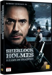 sherlock holmes 2 - a game of shadows / skyggespillet - DVD