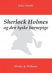 sherlock holmes og den tyske barnepige - bog