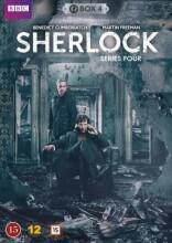 sherlock holmes - sæson 4 - bbc - DVD