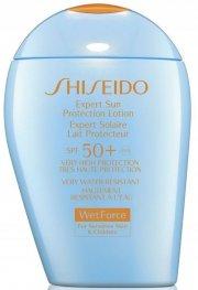shiseido - expert sun lotion for sensitive skin & children 100ml - spf 50+ - Hudpleje