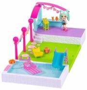 shopkins figurer - happy places pool sæt - Figurer