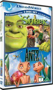shrek / antz - 2-pack - DVD