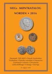 siegs møntkatalog norden. 2016 - bog