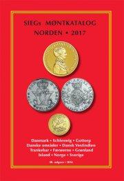siegs møntkatalog norden. 2017 - bog