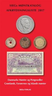 siegs møntkatalog og afkrydsningsliste 2017 - med pengesedler - bog