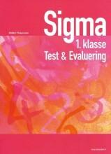 sigma test & evaluering, 1.kl - bog