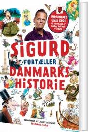 sigurd fortæller danmarkshistorie - bog