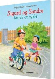 sigurd og sandra lærer at cykle - bog