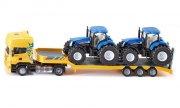 siku 1984 - lastbil med 2 traktorer - Køretøjer Og Fly