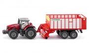 siku 1987 - massey ferguson traktor med pottinger jumbo - Køretøjer Og Fly