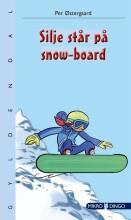 silje står på snow-board - bog