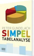 simpel tabelanalyse - bog