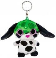 bamse hund nøglering - sluffy - 9 cm - Bamser