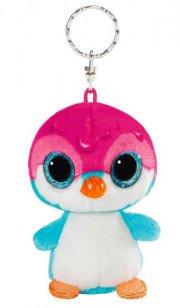 pingvin bamse nøglering - deezy - 9 cm - Bamser