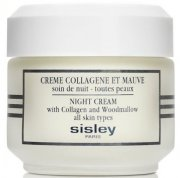 sisley night cream with collagen and woodmallow - 50 ml - Hudpleje