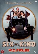 six of a kind - w.c. fields - DVD