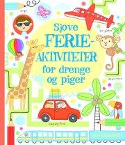 sjove ferieaktiviteter for drenge og piger - bog