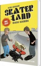 skaterland. alene hjemme - bog