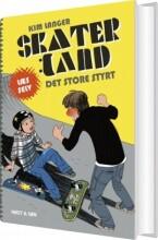 skaterland. det store styrt - bog